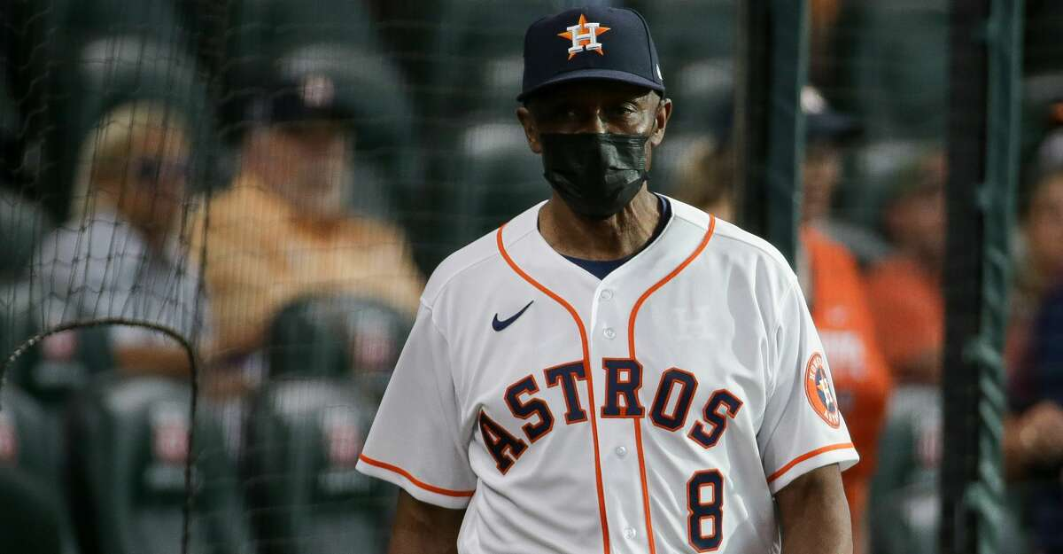 Astros third base coach Gary Pettis reported only mild symptoms from his bout with COVID-19.