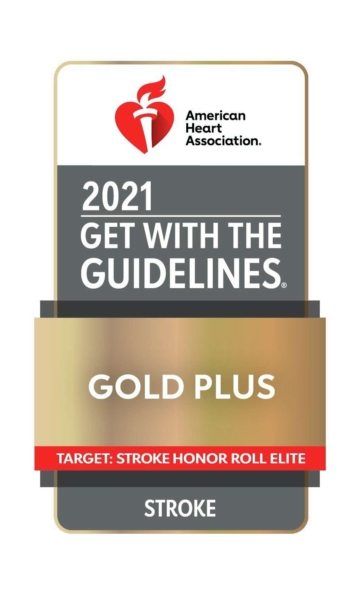 Munson Medical Center has been honored with the 2021 Get With The Guidelines Stroke Gold Plus Award along with the Target Stroke Honor Roll Elite Award. (Courtesy Photo)