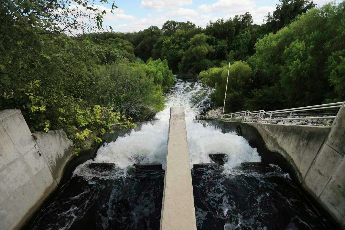 The San Antonio Water System's Steve Clouse Water Recycling Center on the South Side discharges treated water into the Medina River just upstream from where that river merges with the San Antonio River.