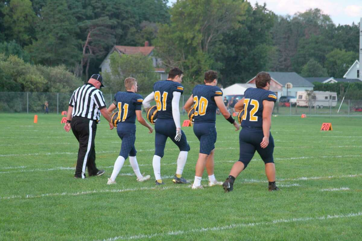 The Manistee Chippewas suffered a home loss to Muskegon Heights on Friday night. (McLain Moberg/News Advocate)