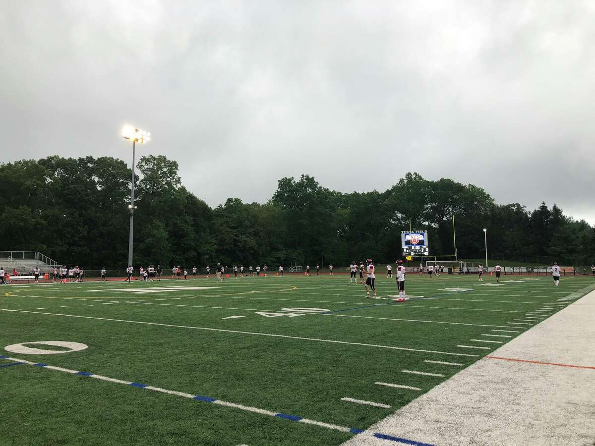 Testa Field before Norwalk vs. Fairfield Warde