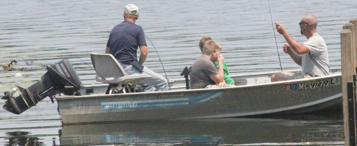 Anglers will have to work hard for success this weekend. (Pioneer file photo)