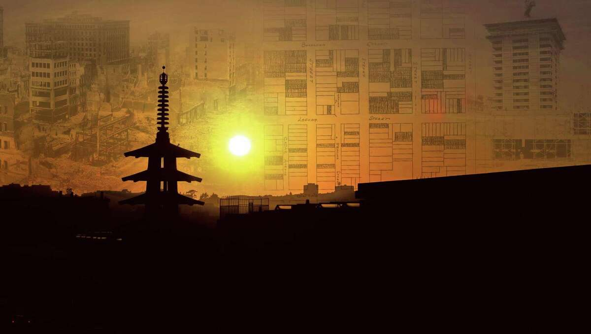 Illustration for the shaping of Japantown