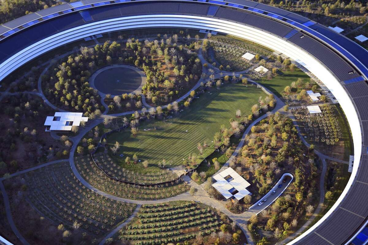 When employees return en masse to Apple's campus in Cupertino, Calif., they may find a more activist workplace. (Jim Wilson/The New York Times)