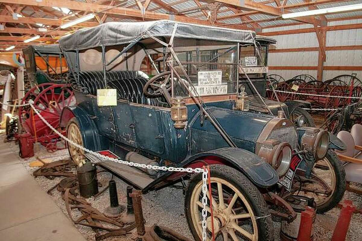 A car built in 1911 is one of many on display at Prairie Land Heritage Museum for visitors to view during the museum's Fall Festival and Steam Show.