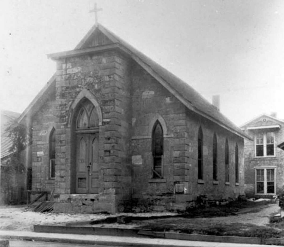 Built in 1879 for a German Methodist congregation, the church at La Villita was showing its age before it was included in the restoration of the La Villita Historic District that began in 1939. It was also home to a historically Black Episcopal congregation, a radio church and a long-running men's Bible study group.
