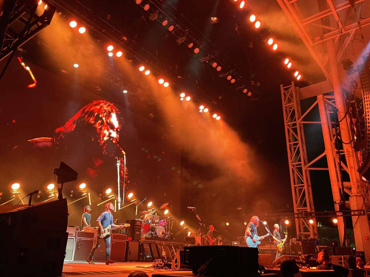 Foo Fighters performed at the Hartford HealthCare Amphitheater in Bridgeport, Conn. on Friday, Sept. 17, 2021.