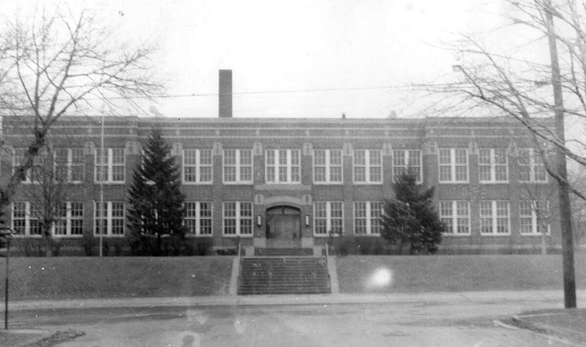 Washington School, formerly located on Ford Street, was dedicated in January 1936. News Advocate columnist Ken Grabowski has fond memories of his time spent there. (Courtesy photo)