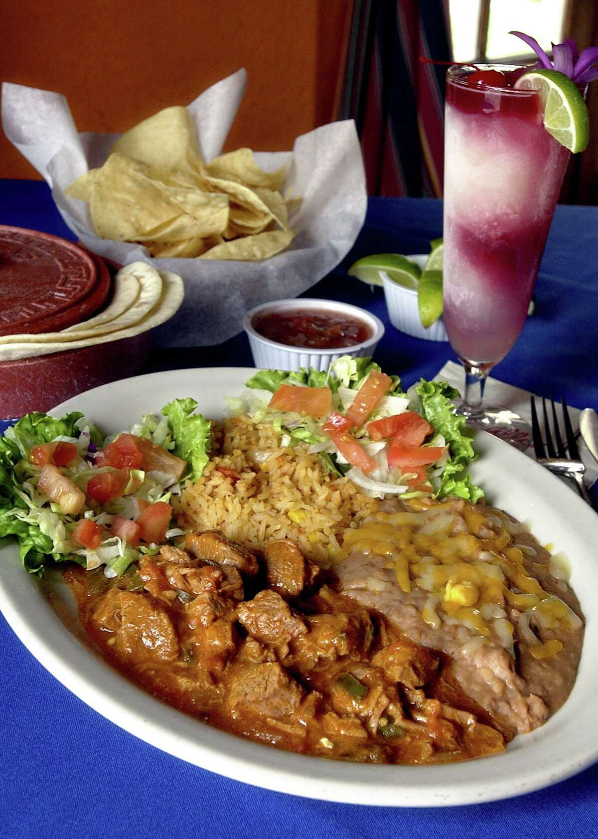 An order of food from Tomatillos Cafe y Cantina