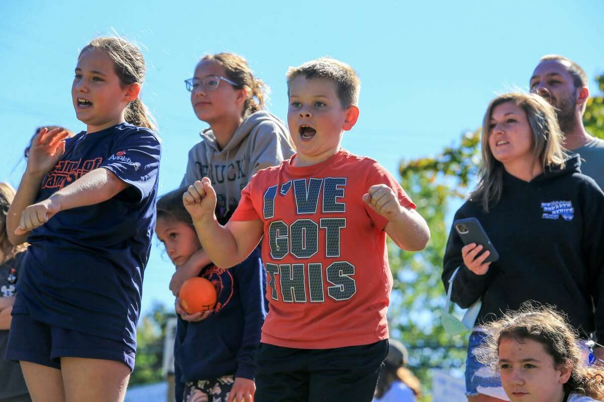 People enjoy Caseville's annual Pumpkinfest Sept. 18.