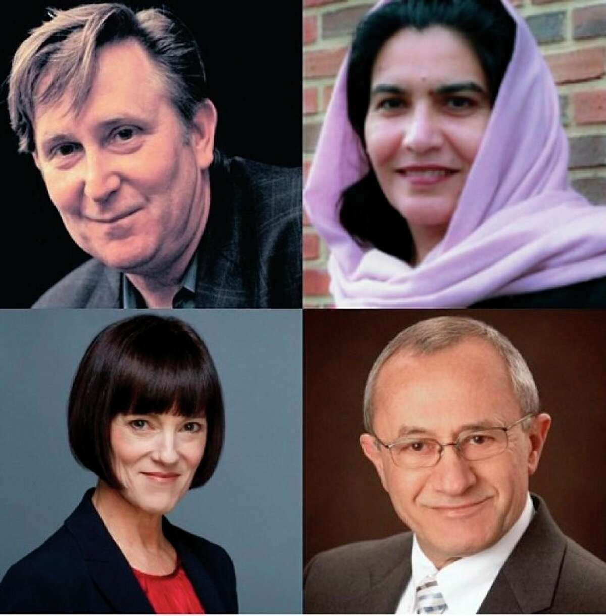 Doug Stanton, Jack Segal,Rahela Sidiqi and Shannon Spann DeBruynwill participate in a panel on Afghanistan hosted by the National Writers Series. (Courtesy Photo)
