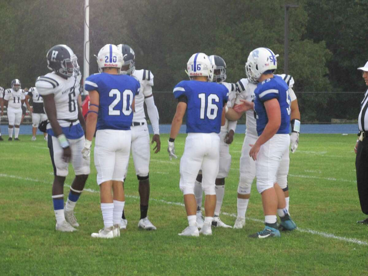 Hartford Public and Lewis Mills both had a chance to shine in the Owls' one-point win over the Spartans at Lewis Mills High School Friday night.