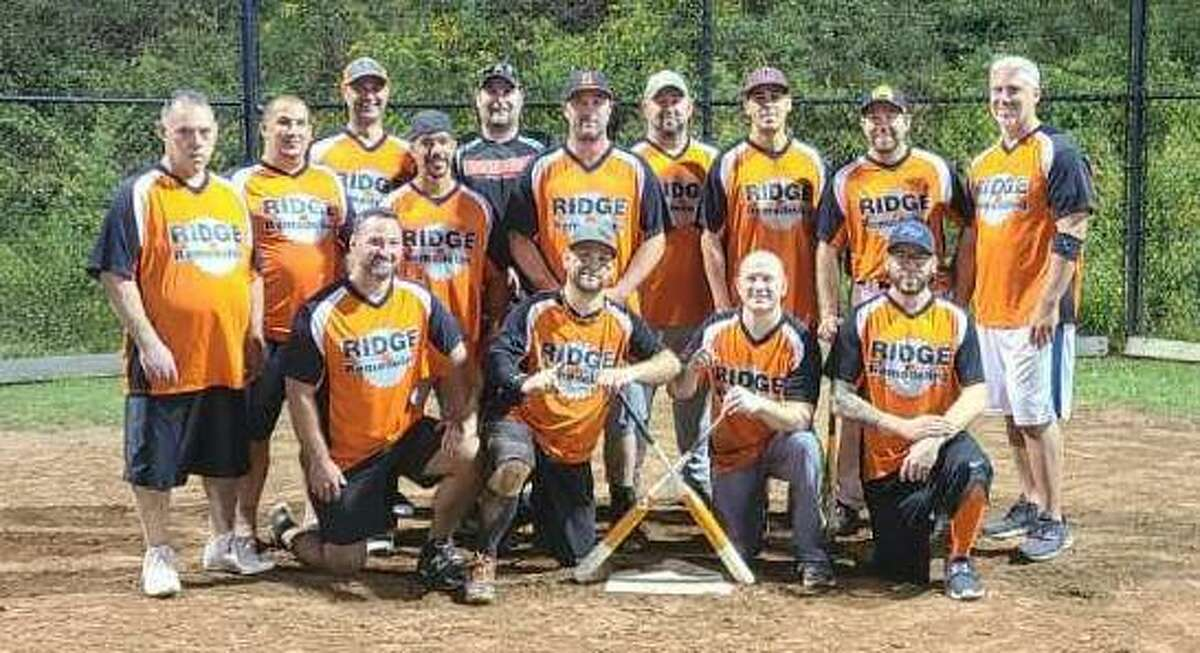 Ridge Remodeling earned the Shelton Men's Over-35 Softball League championship with a 20-19 victory over Retro Grub and Pub.