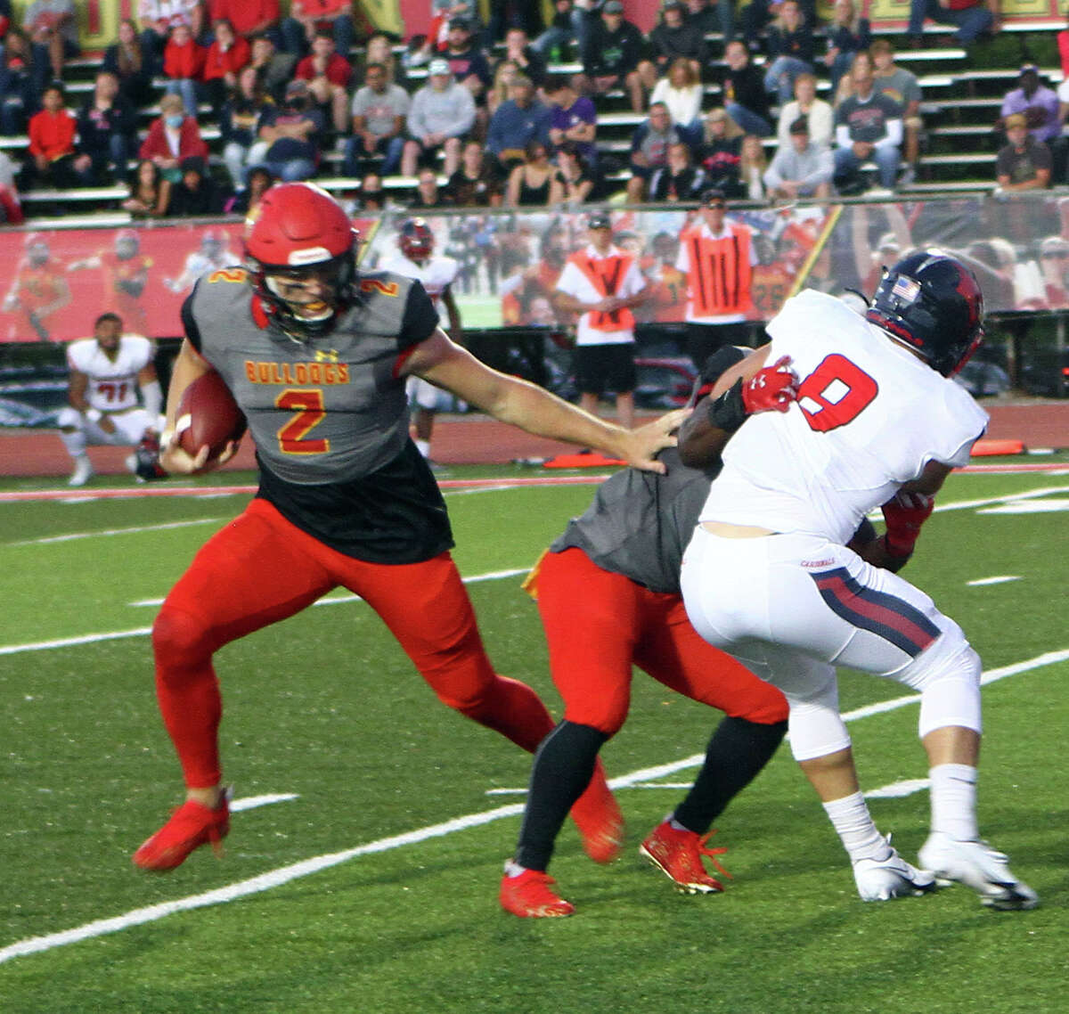 On Saturday evening, the Ferris State football team outlasted Saginaw Valley State in overtime by a final score of xx-xx at Top Taggart Field.