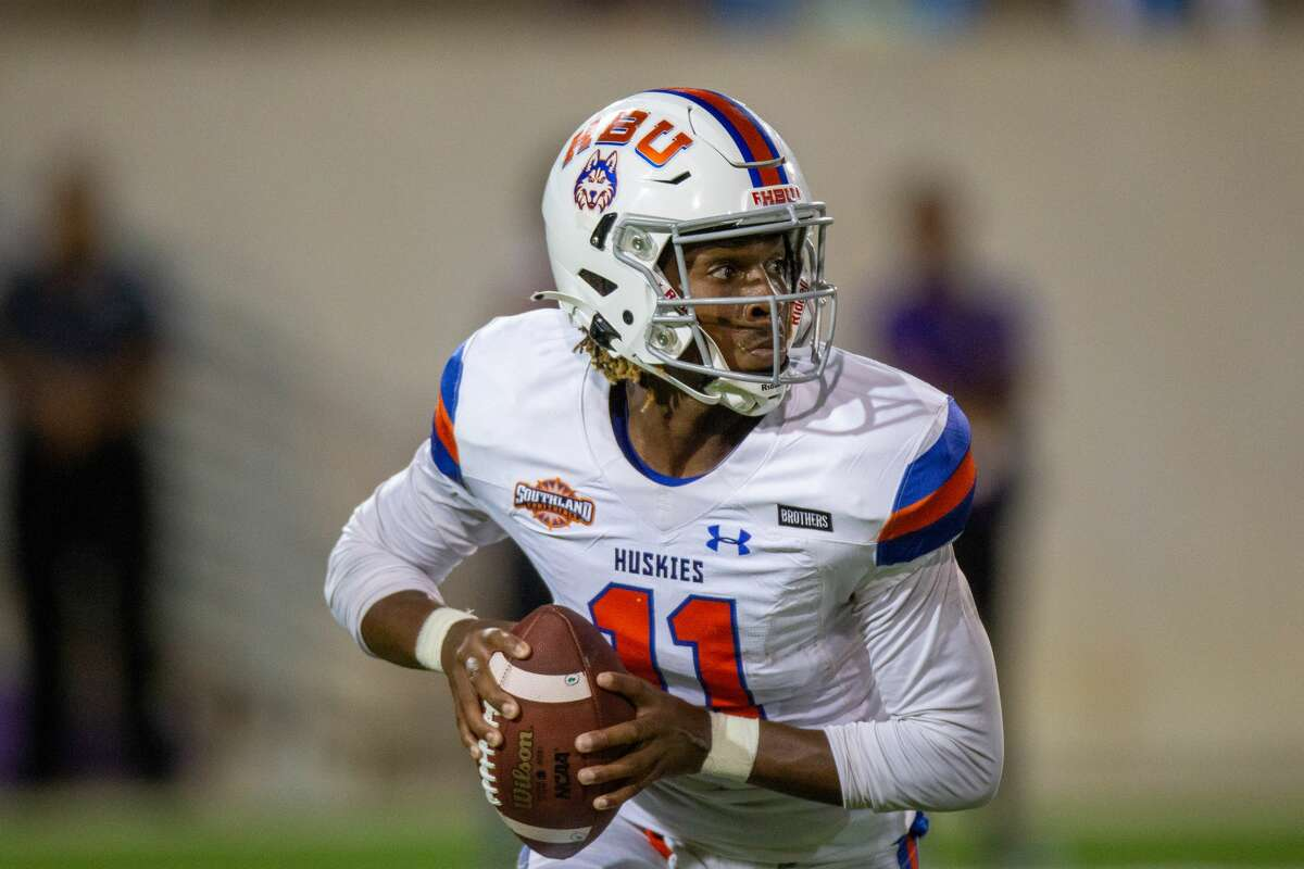 Houston Baptist sophomore QB Desmond Young is poised to make his first career start Saturday.