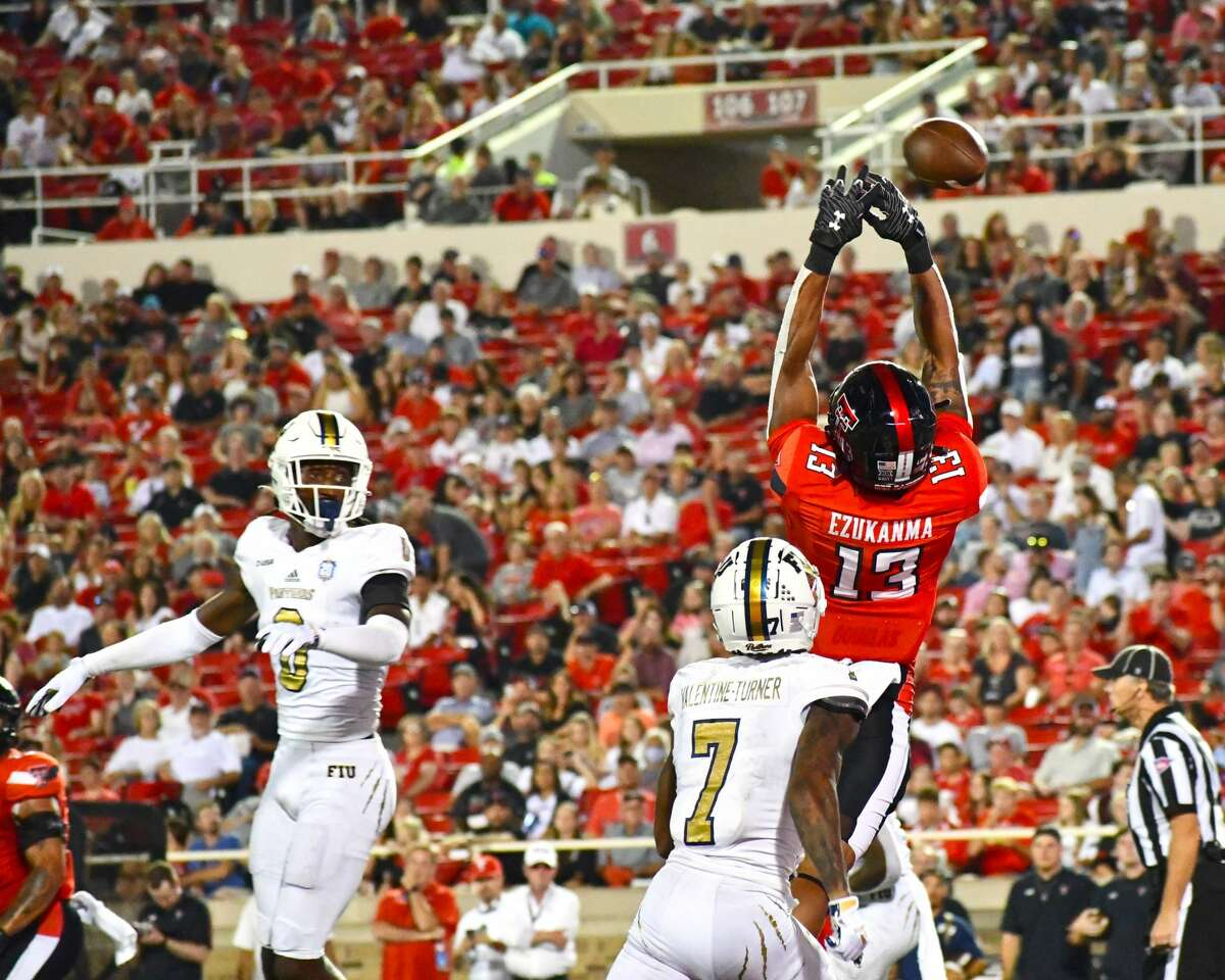 Texas Tech defeated Florida International 54-21 in a non-conference college football game on Saturday in Jones AT&T Stadium at Lubbock.