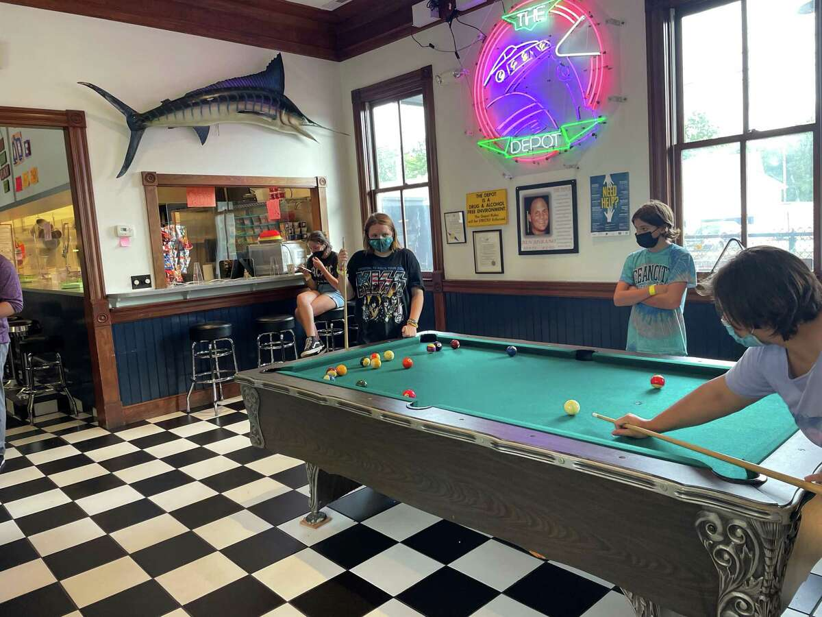 The Depot Youth Center of Darien is designed to support the youth in town while giving them opportunities to connect, grow and relax.