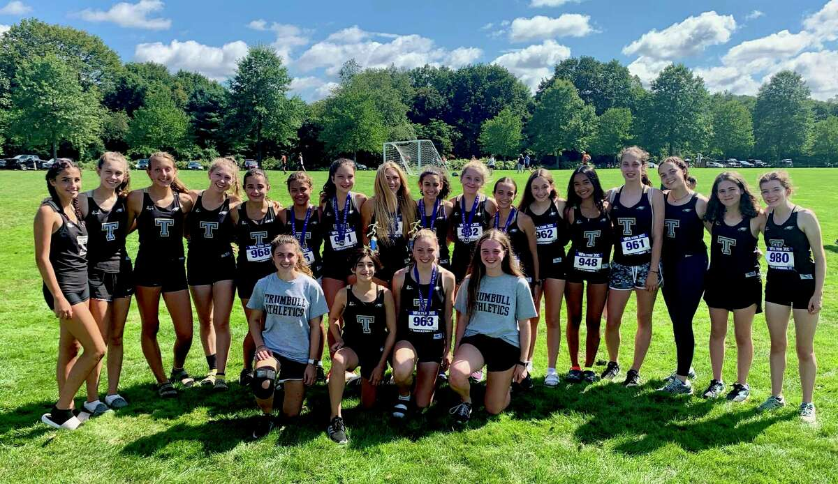 Trumbull competed in the freshmen (1.5 miles), junior varsity (2.5 miles) and varsity (2.5 miles) races versus more than 20 schools from Connecticut and New York.