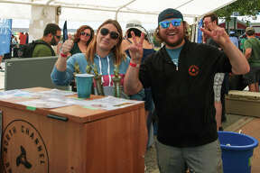 Hops & Props on the River featured 32 breweries, distilleries and wineries on Saturday in downtown Manistee. In addition to craft brew tasting, the event also included a boat show featuring the new Manistee-based Thoroughbred Boat Company which unveiled its first vessel on Saturday.