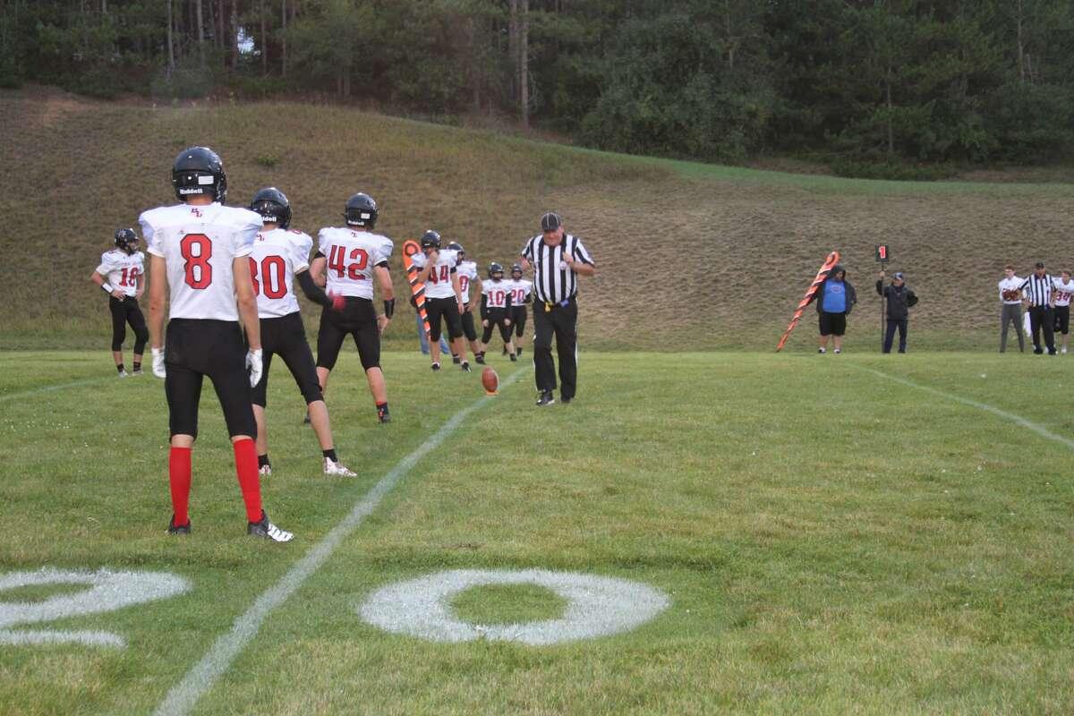 Bear Lake defeated Manistee Catholic Central, 20-14.