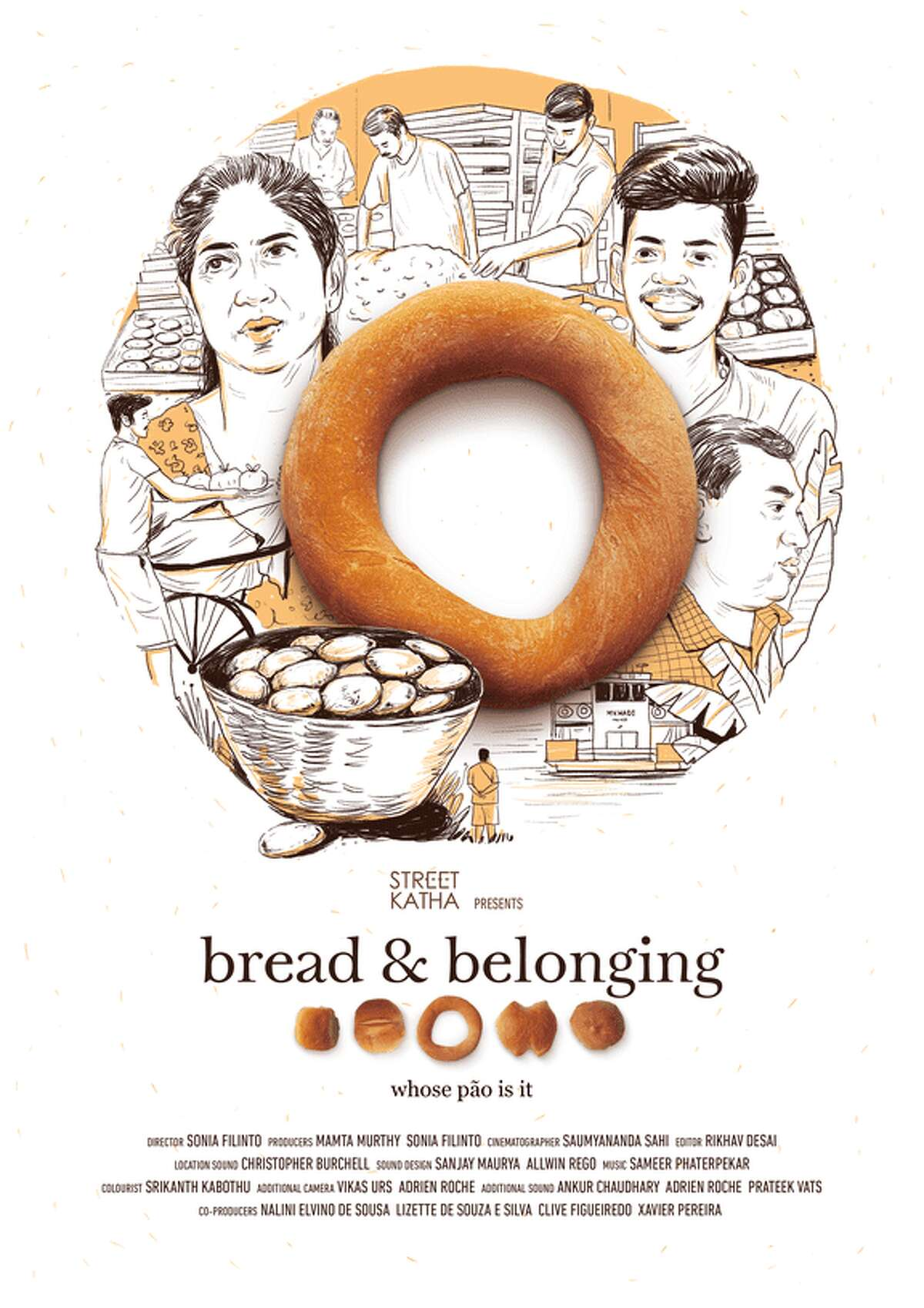 The poster for the film Bread & Belonging.