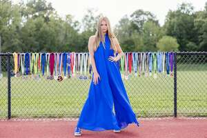 Gianna Locci of Stillwater teamed up with Saratoga County photographer Tracey Buyce for her senior photos. She is an All-American and the reigning Times Union Track and Field Athlete of the Year. (Photo courtesy of Tracey Buyce)