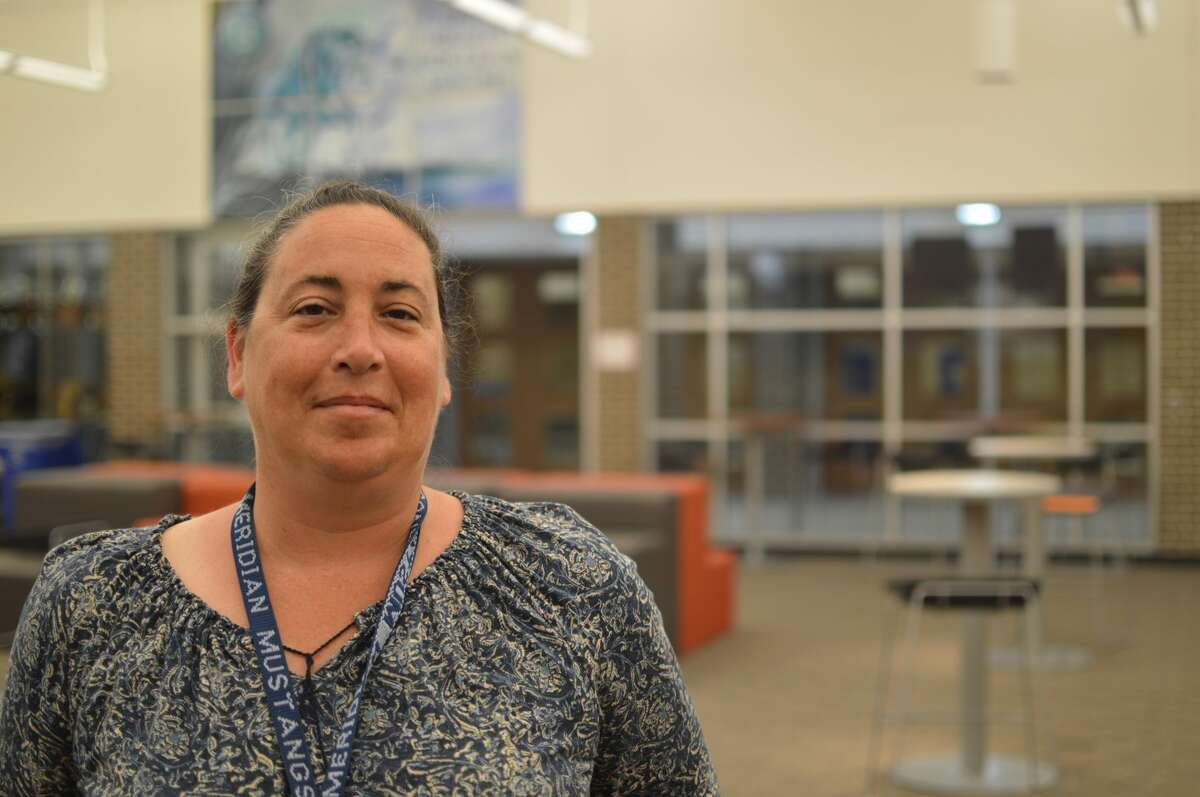 Rhonda Sturgeon is a paraprofessional at Meridian Early College High School who has been helping seven current seniors throughout their four years of high school. (Photo provided)