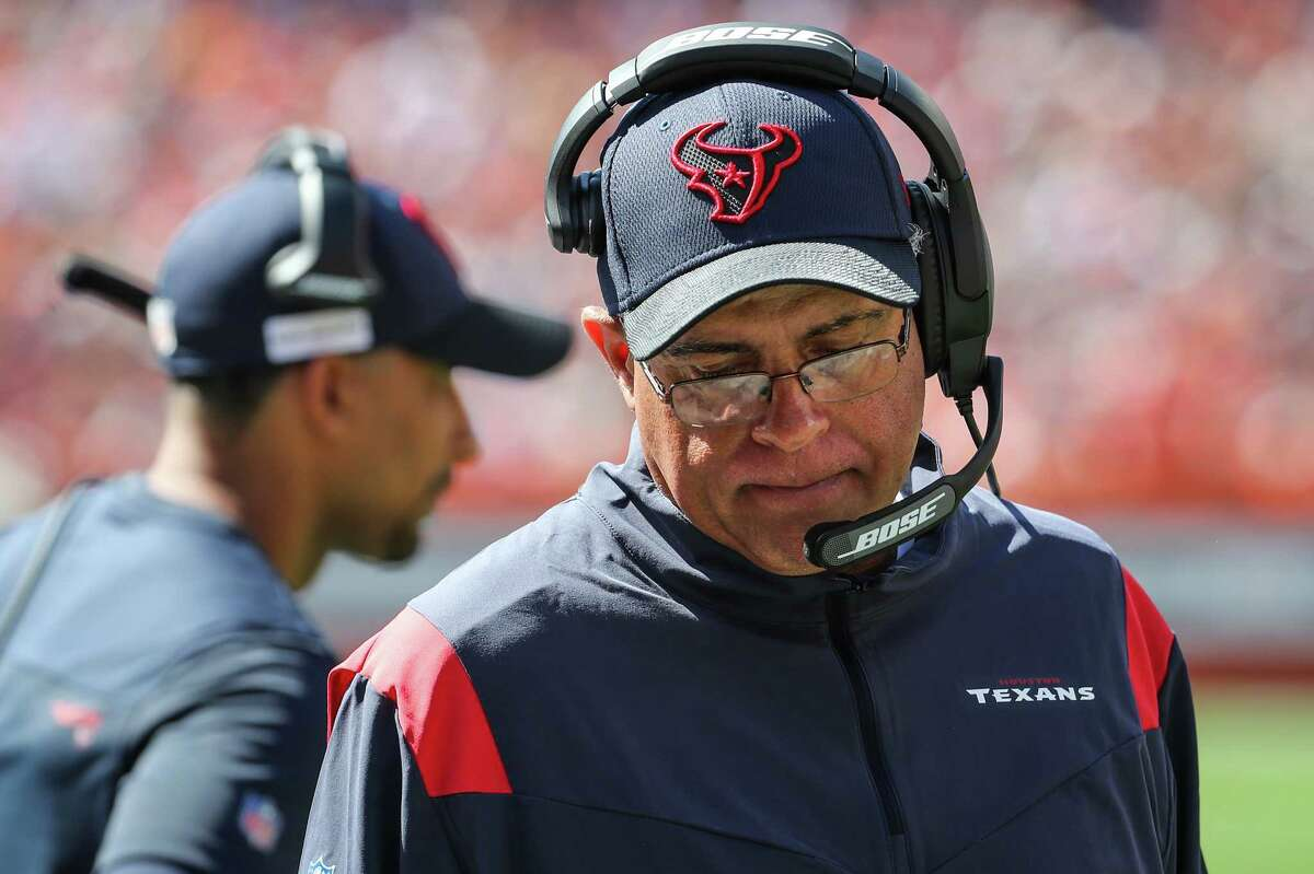 Texans coach David Culley made a curious first-half decision in which he declined a penalty and punted instead of taking another third-down play.