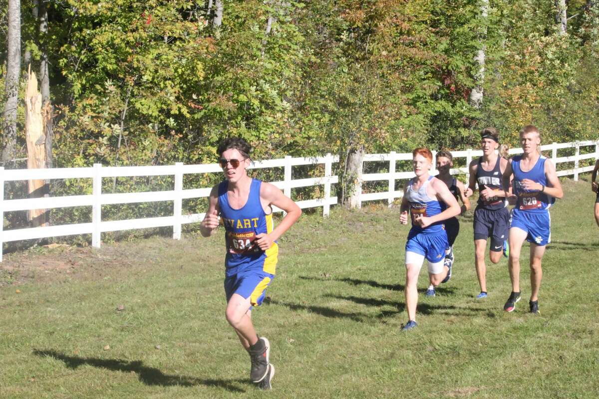 Reed City's boys and girls won trophies at the Evart Invitational on Saturday. Miranda McNeil from Morley Stanwood and Ryan Allen from Reed City were the individual winners.