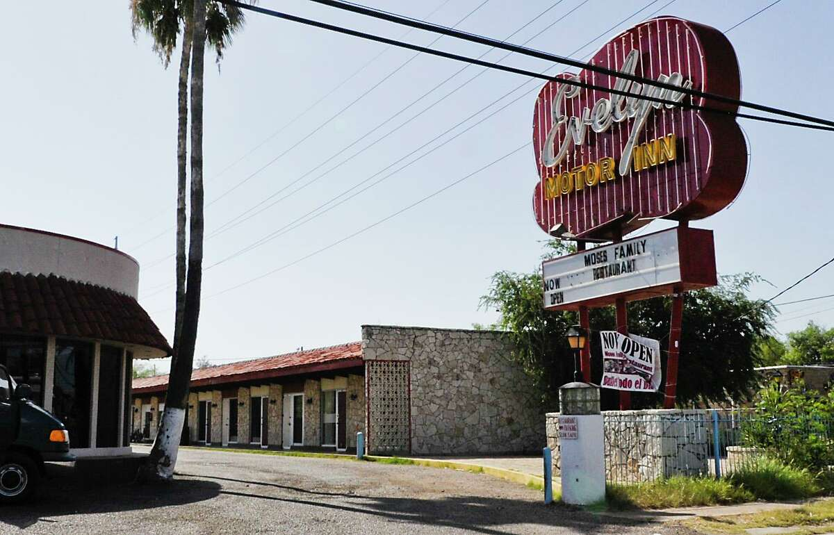 An exterior view of the Evelyn Motor Inn is seen in Aug. 2013.