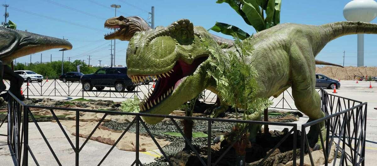 """Jurassic Quest"" opens Friday in San Antonio."