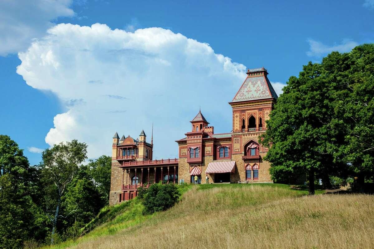 Olana State Historic Site on its summit overlooking the Hudson River. (Olana State Historic Site)