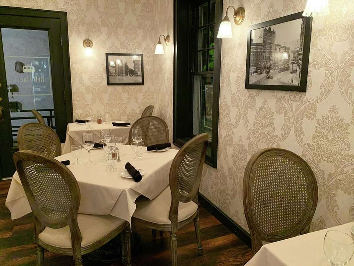 The dining room at Belt Line 3 Restaurant & Bar in Albany. The name is derived from a trolley route that ran along Hamilton Street.