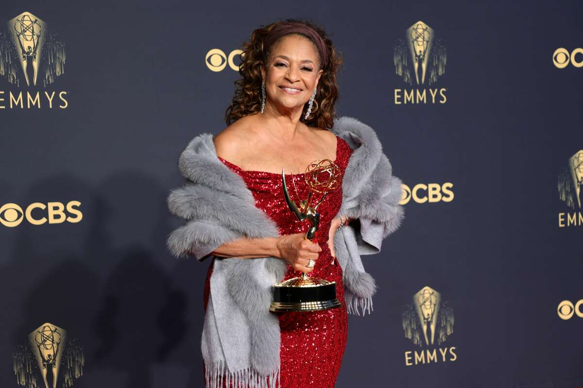 Honoree Debbie Allen, recipient of the Governors Award, poses in the press room during the 73rd Primetime Emmy Awards at L.A. LIVE on September 19, 2021 in Los Angeles, California.