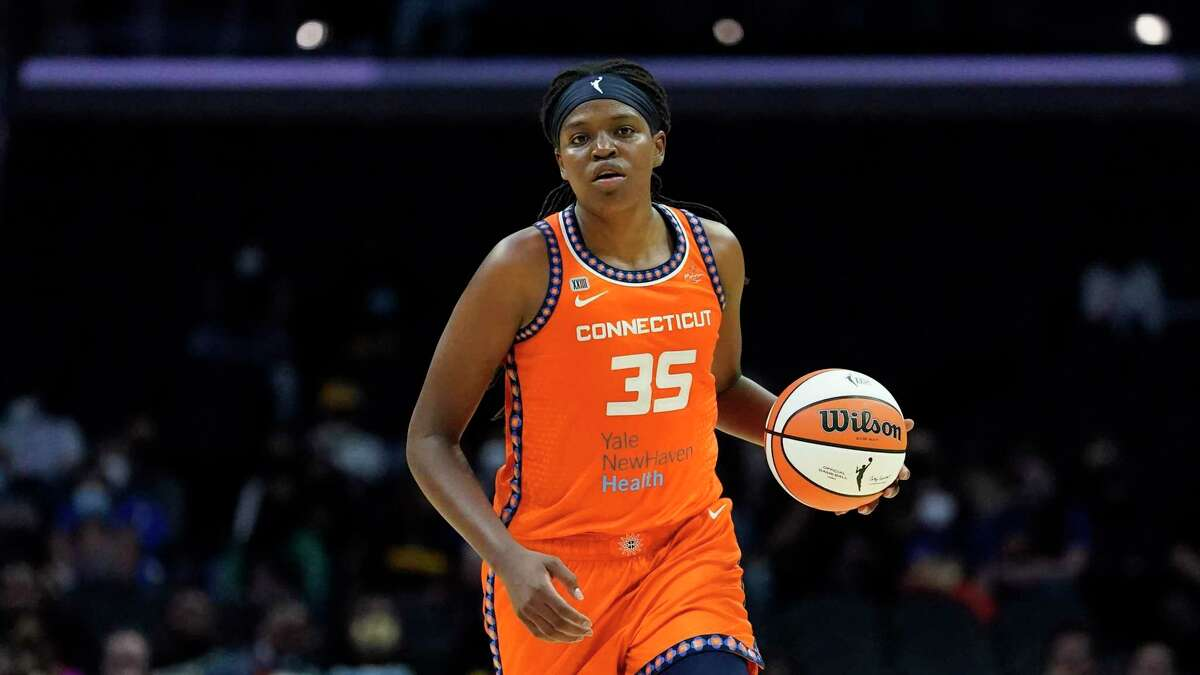 Forward Jonquel Jones and the Connecticut Sun enter the WNBA playoffs as the No. 1 overall seed.