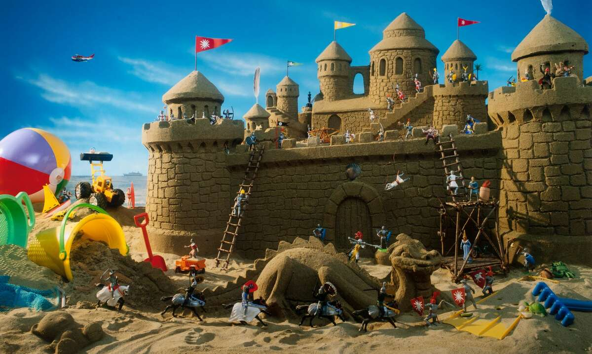 """Walter Wick's """"Sand Castle"""" from """"I SPY Fantasy"""" published in 1994."""