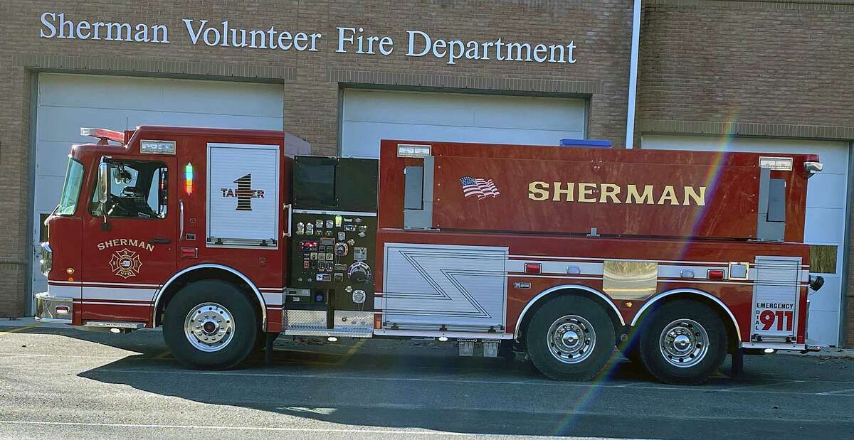 The Red Cross responded to help four people displaced after a fire in Sherman, Conn., on Sunday, Sept. 19, 2021, officials said.