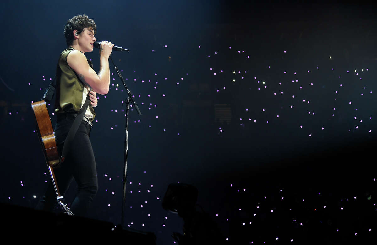 Shawn Mendes performed at Mohegan Sun in 2019.