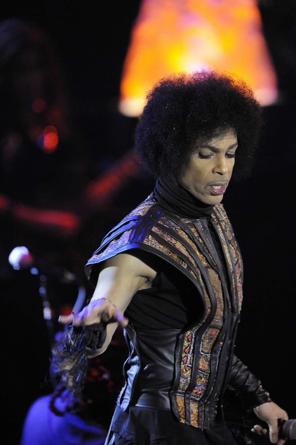 Prince performed at Mohegan Sun in 2013.