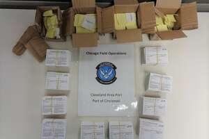 The fake COVID-19 vaccine cards were stopped in Cincinnati.