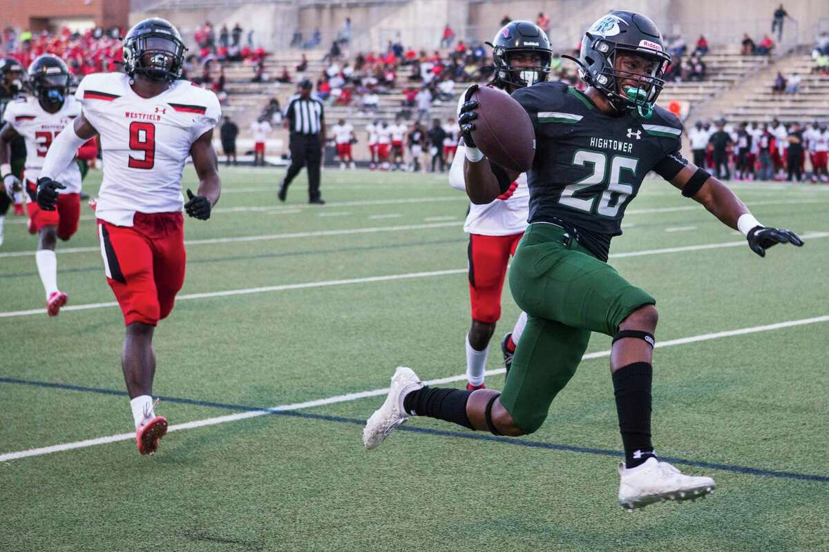 Hightower running back Jeremy Payne rushed for a career-high 96