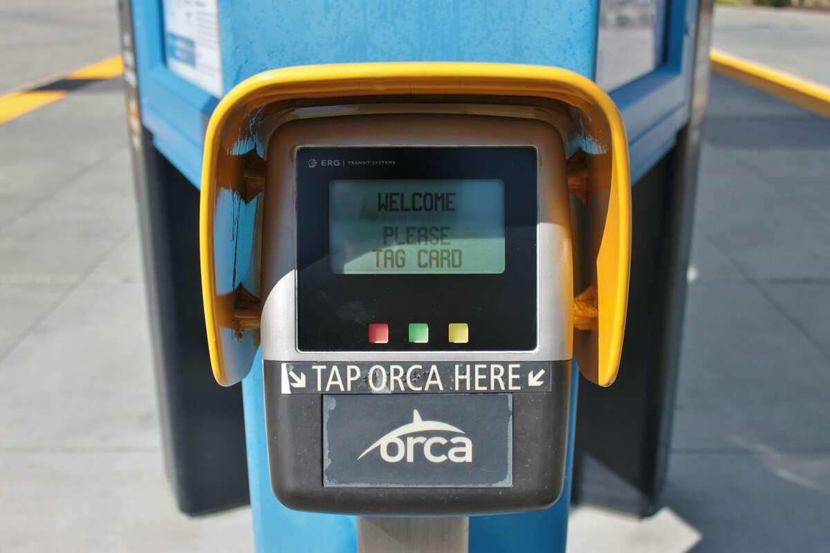 An ORCA card reader.