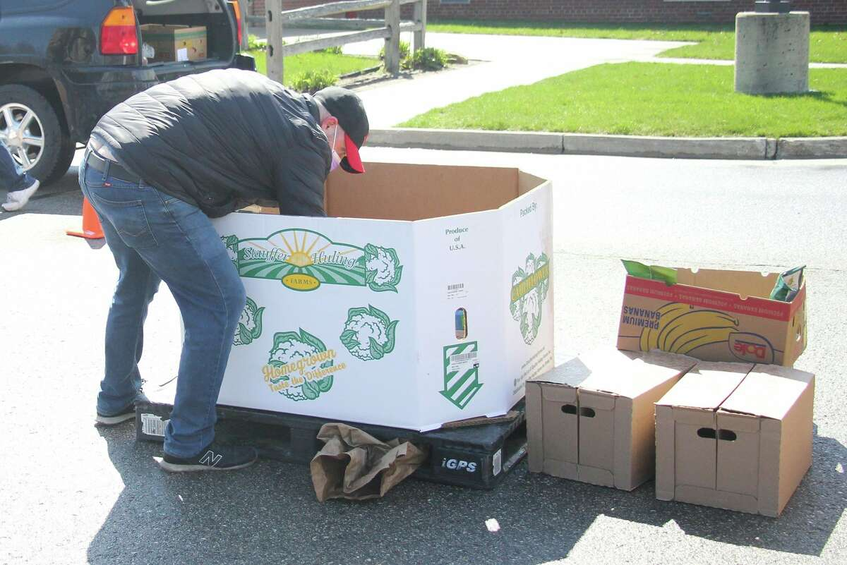 The Food Bank of Eastern Michigan will sponsor one pop-up food pantry in the Upper Thumb this week.The drive-thru pantry will take place Tuesday, Sept. 21, in Port Austin at St. Michael Church. (Tribune File Photo)