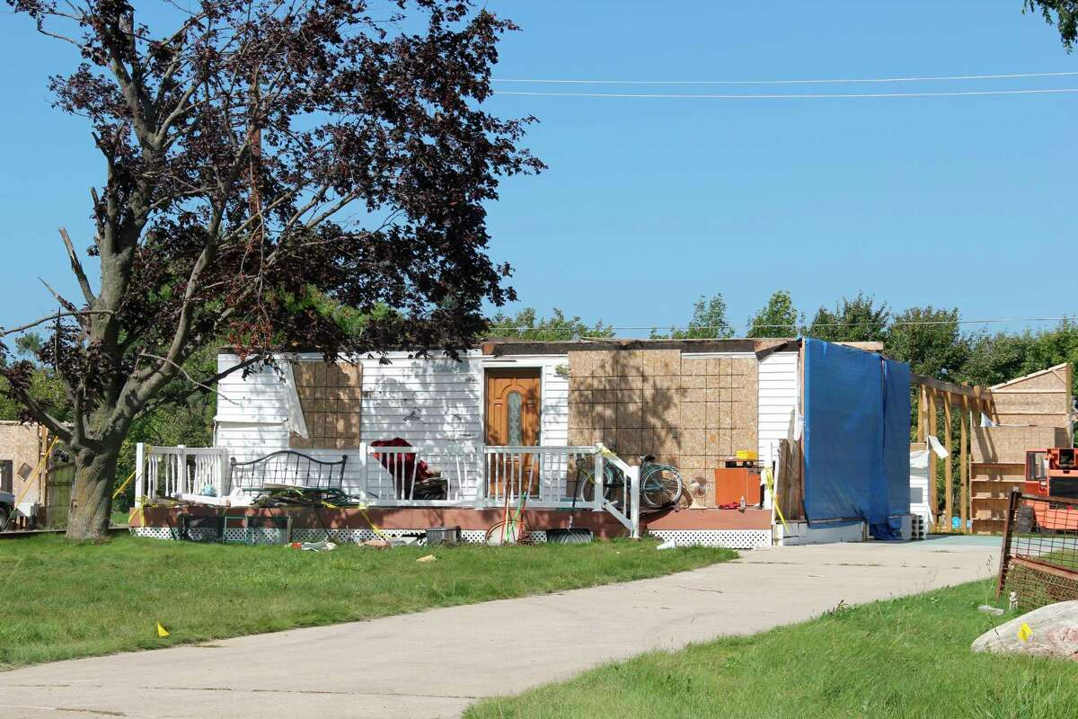 There is still $14,000 in relief funding available for Port Austin residents affected by the June tornado. Any funding not claimed in further applications will be given to those who already applied. (Robert Creenan/Huron Daily Tribune)
