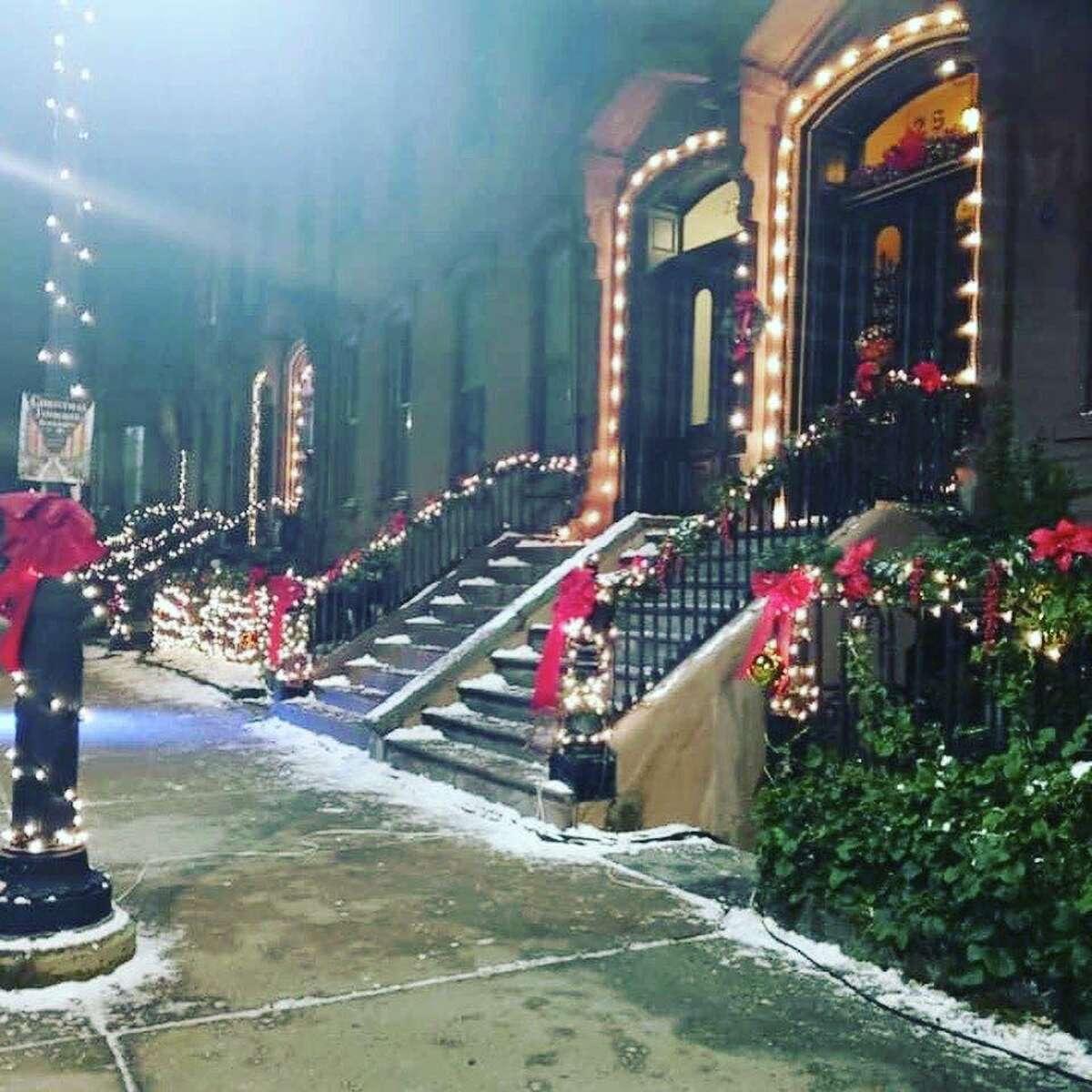 "Hallmark movie ""Christmas in Harlem"" filmed in parts of Hartford, Conn. the weekend of Sept. 18- 19, 2021."