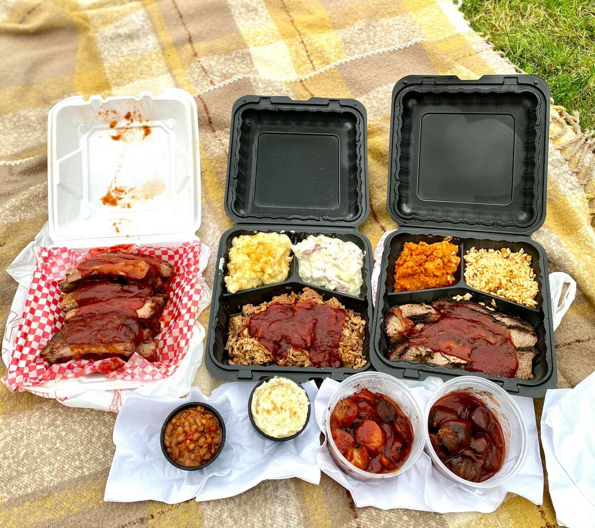 Picking up a barbecue spread from Iron Works Grill in Troy will win you friends at after-school sports and other events.