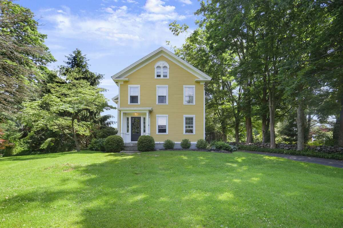 The house at 11 Tory Lane in Newtown is on the market for $1,199,000.