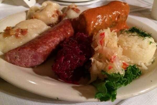 Polish platter at the Polish Home