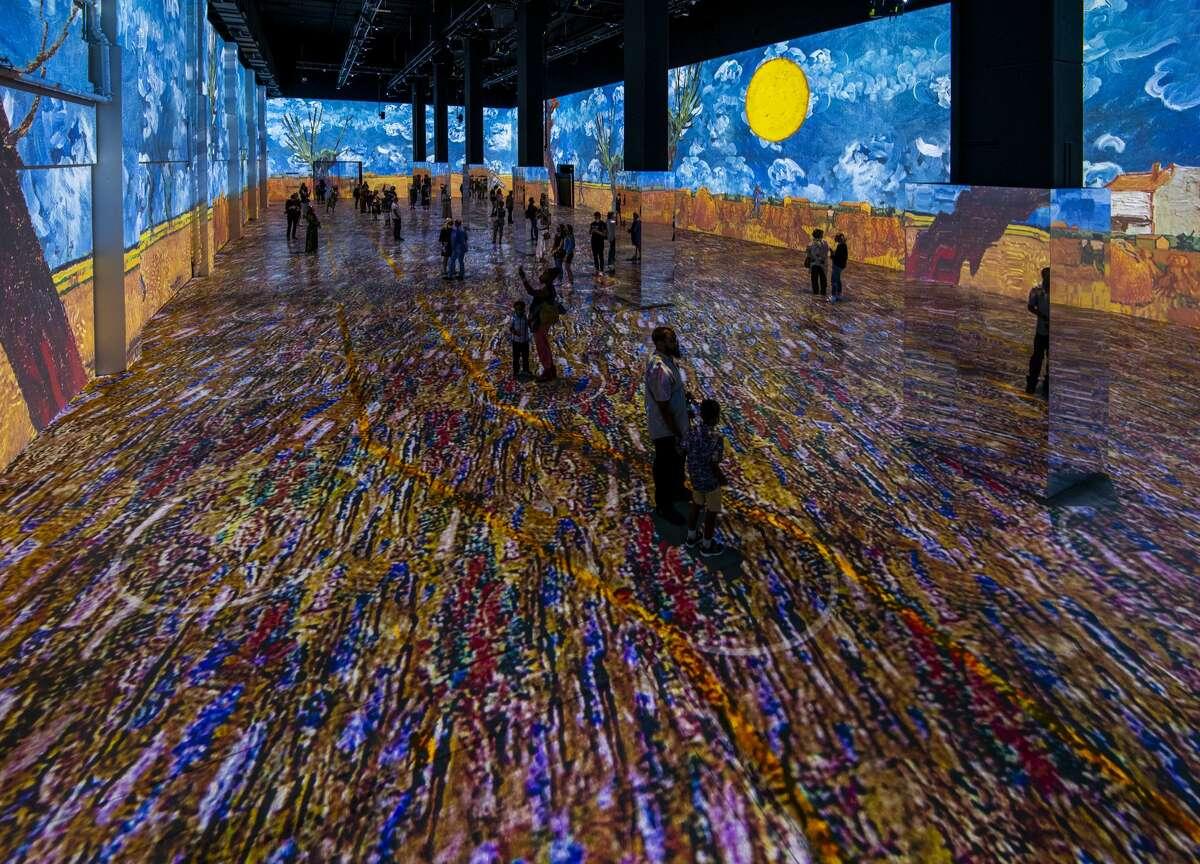 """The """"Immersive Van Gogh"""" exhibit in Toronto."""