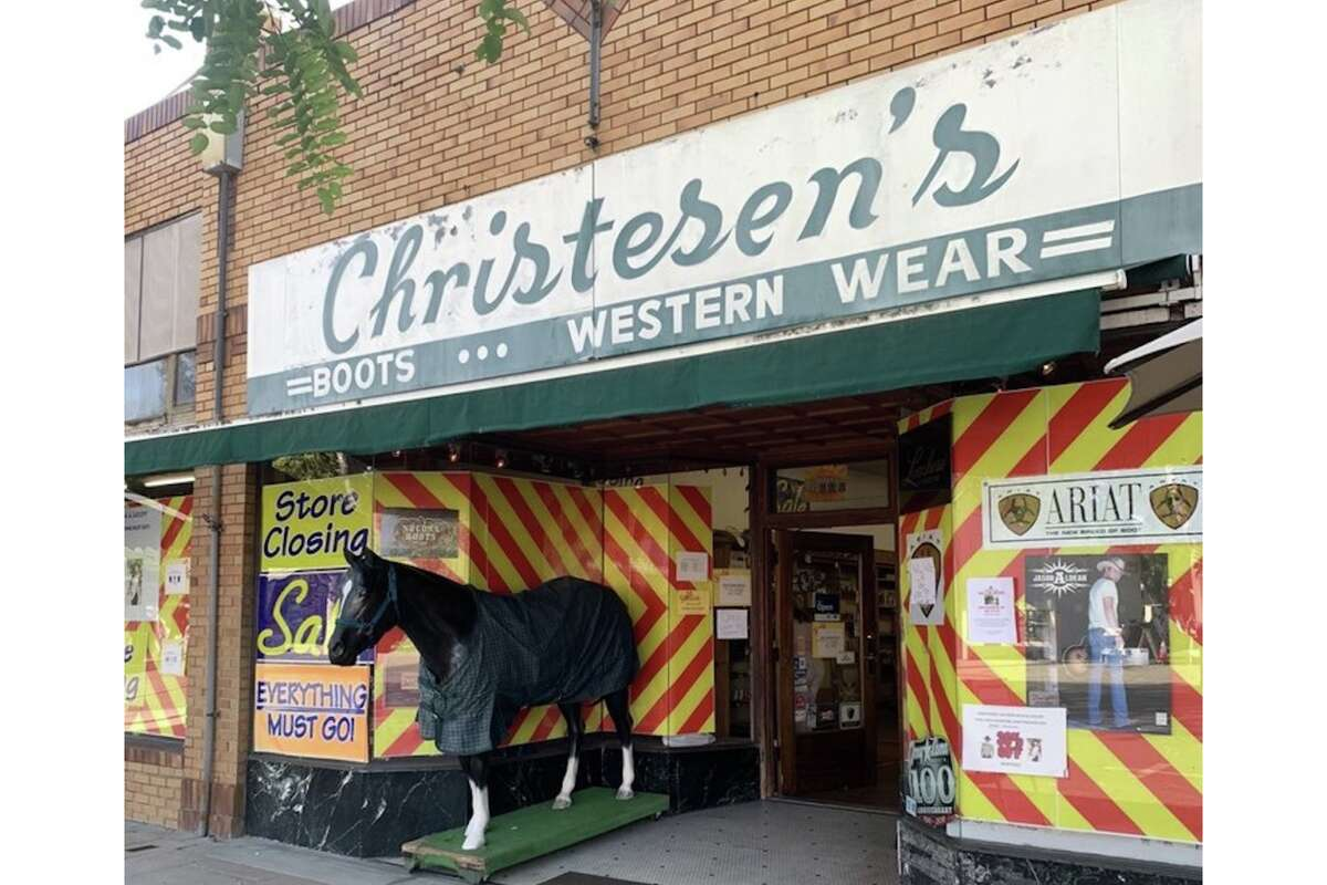Christesen's Western Wear is set to close for good on Sept. 26.